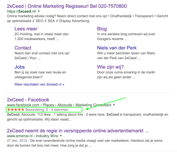 Rich Snippets - 2xCeed