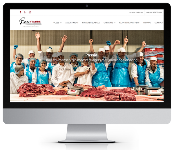Website-gemaakt-door-2xceed-bonne-viande | 2xCeed Online Marketing