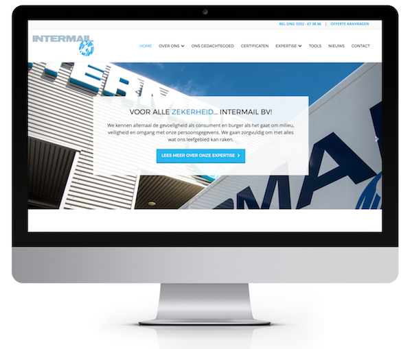 intermail-website-ontwerp-door-2xceed | 2xCeed Online Marketing